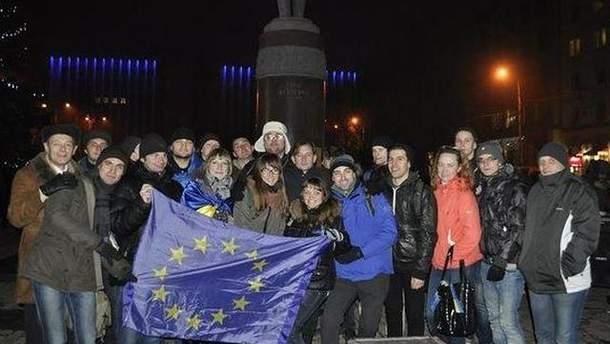 Євромайдану у Донецьку