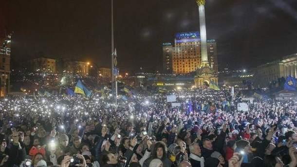 Новий рік на Майдані