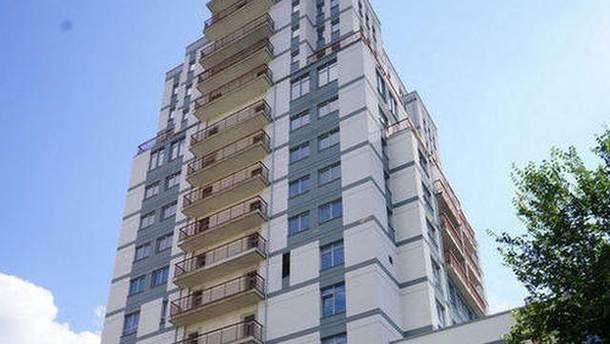 Многоэтажка в Голосеевском районе Киева