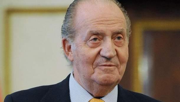 Король Іспанії Хуан Карлос І