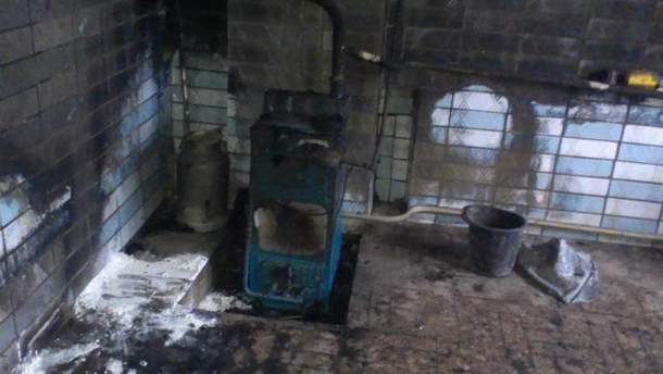 Обгоріла квартира