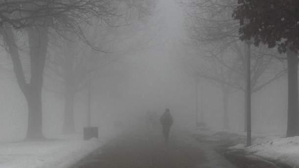 ДСНС попереджає про туман