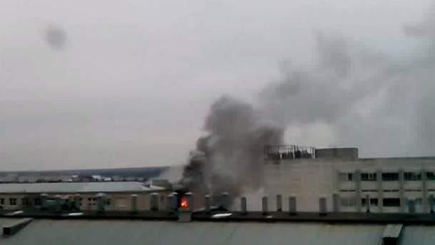 Пожар на харьковском заводе