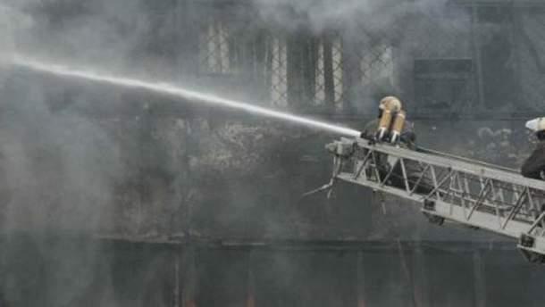 Пожежа у Харкові