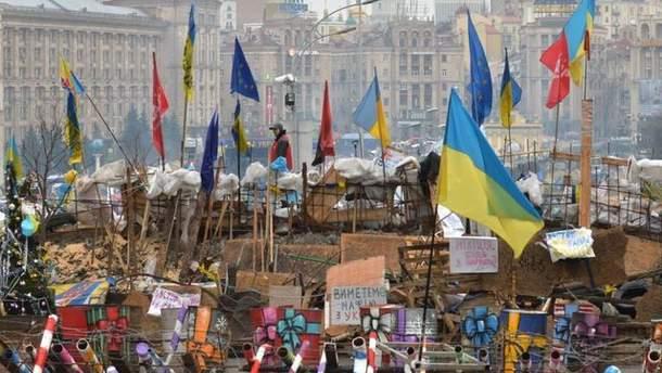 Барикады Евромайдана