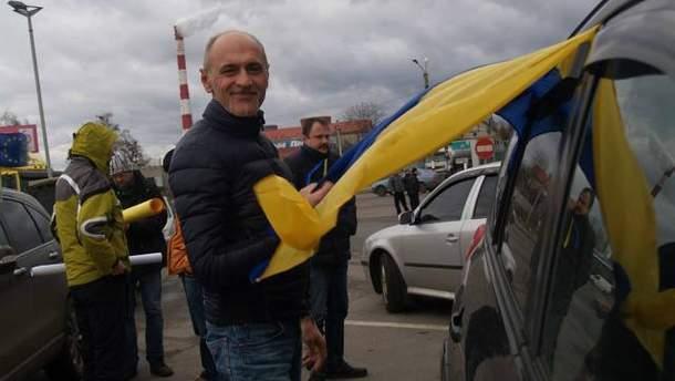 Автоколонны из Львова