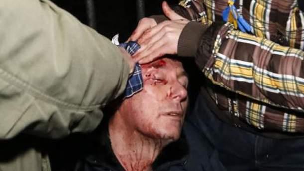 Юрий Луценко после избиения