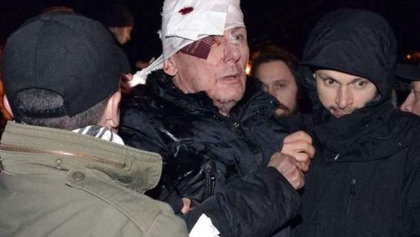 Юрій Луценко після нападу