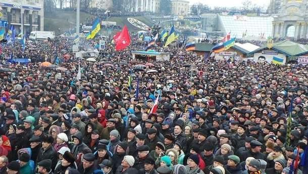 Евромайдан 12 января
