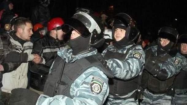 Столкновение под Киево-Святошинским судом