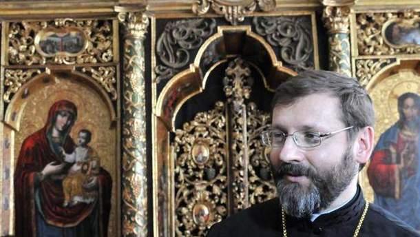 Глава УГКЦ Блаженніший Святослав (Шевчук)