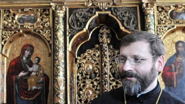 Глава УГКЦ Блаженнейший Святослав (Шевчук)