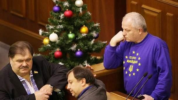 Блокирование парламента