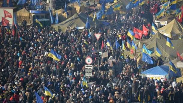 Митинг на Майдане Независимости