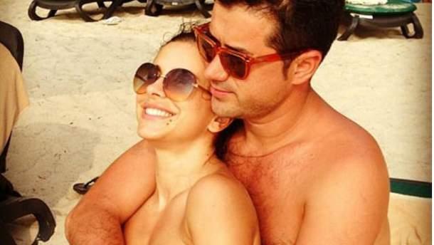 Ані Лорак з чоловіком