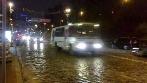 "Автобуси ""Беркута"""