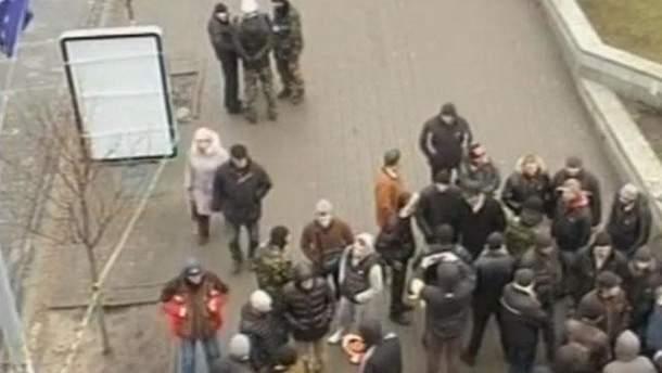 Участники Антимайдана