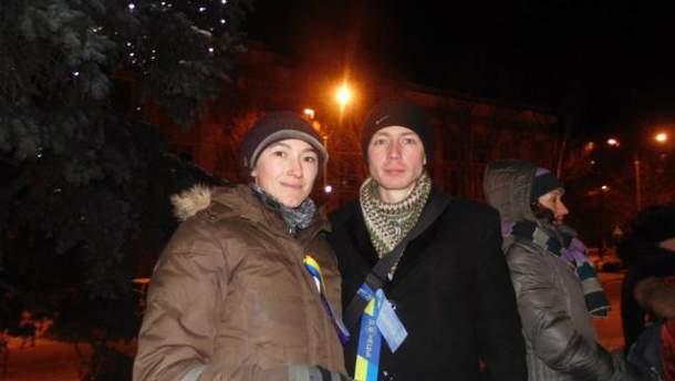 Анна Зуева и Максим Гузь