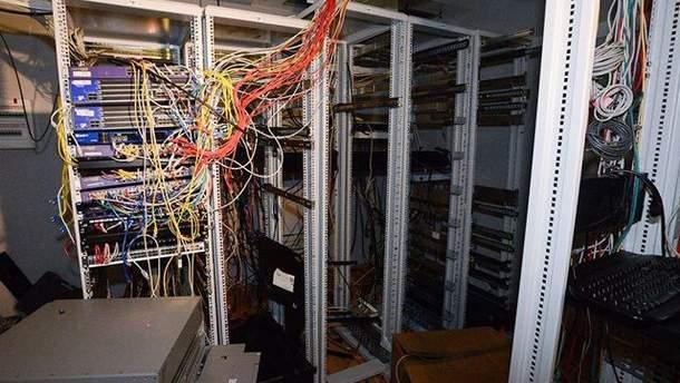 Офис после погрома