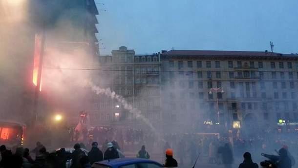 Столкновение на Грушевского