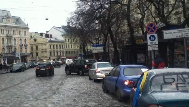 Автомобілісти Львова