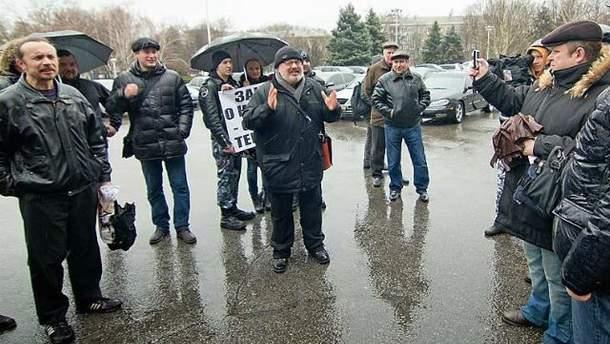 Одесские журналисты вышли на пикет