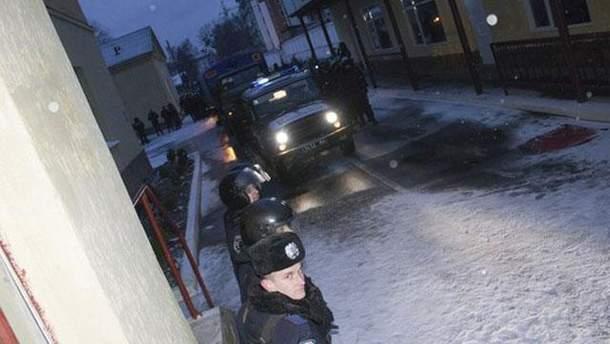 Блокада военной части во Львове