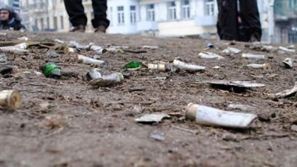 Земля на улице Грушевского