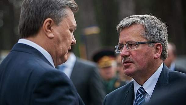 Янукович и Коморовский