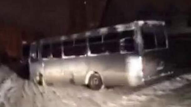 """Автобус с """"Беркутом"""""""