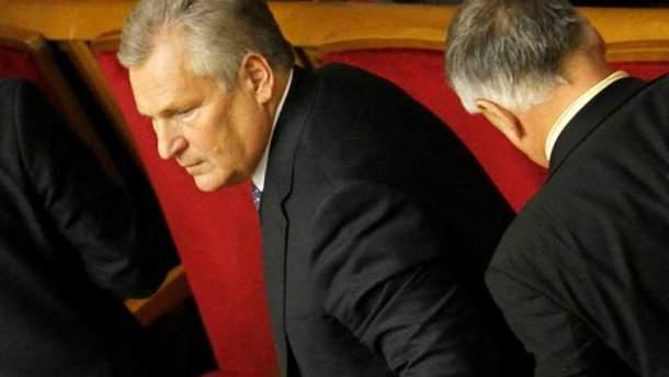 Президент Польши Александр Квасьневский
