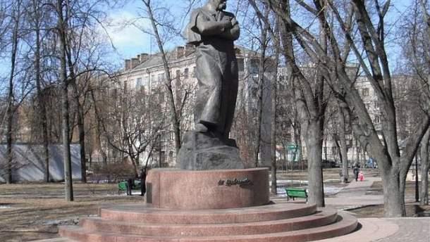 Памятник Тарасу Шевченко в Минске