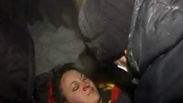 Міліція взялася розслідувати обставини травмування дівчини під час сутичок в Черкасах