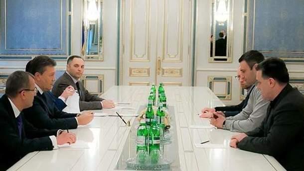 Переговори Президента з опозицією