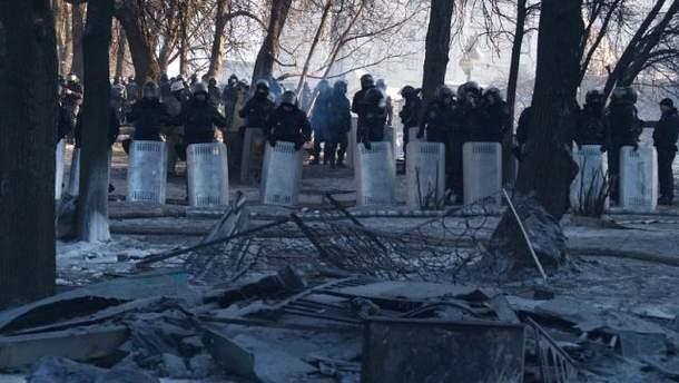 Зима у Києві