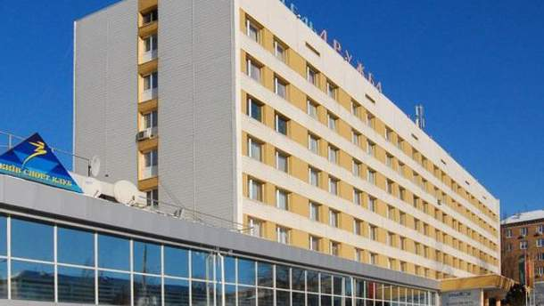 Отель, где, вероятно, живут правоохранители