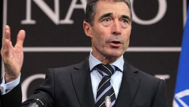 Генсек НАТО Андерс Фог Расмуссен