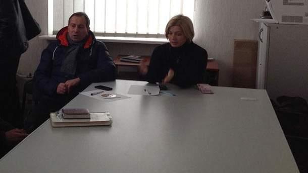 Николай Томенко и Ирина Геращенко