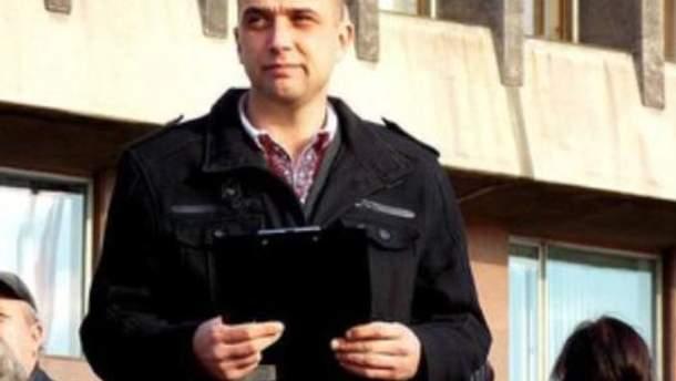Задержанный активист Игорь Артюшенко