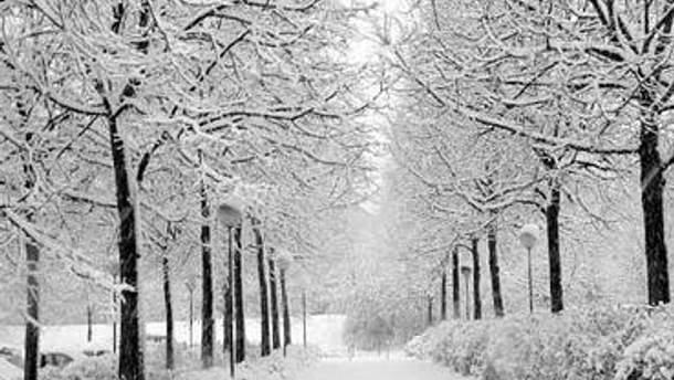 В Україні холодно