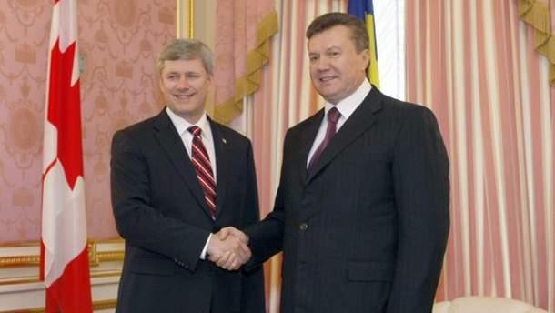 Гарпер і Янукович