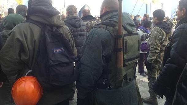 Активисты Евромайдана