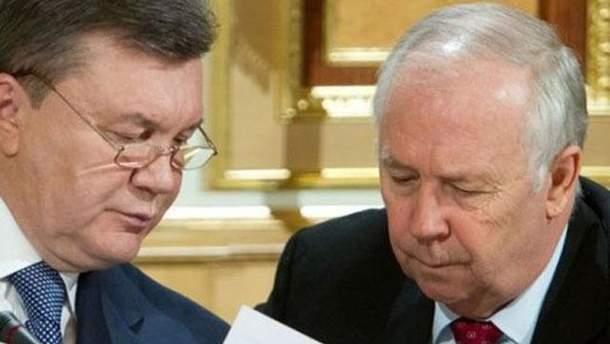 Віктор Янукович і Володимир Рибак