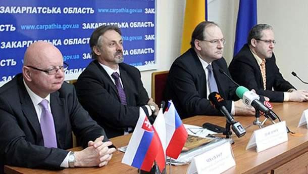 Представники країн Вишеградської четвірки