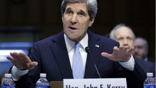 Госсекретар США Джон Керрі