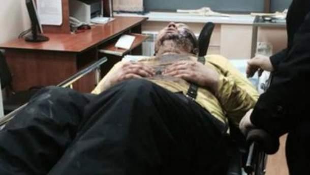 Дмитрий Булатов в больнице