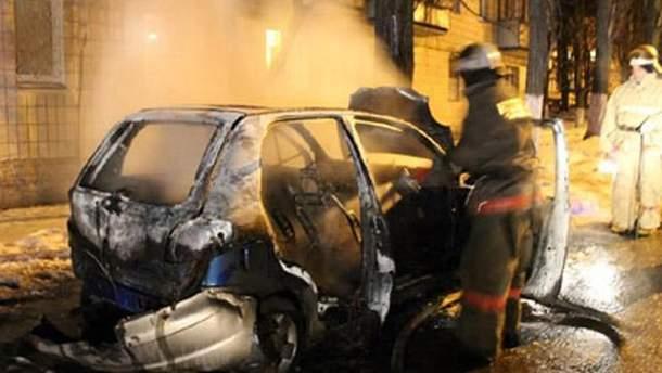 Поджоги автомобилей
