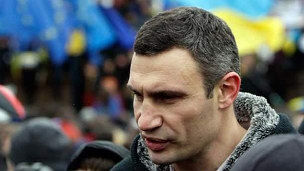 Кличко на Майдані