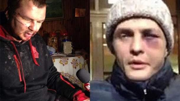 Дмитрий Булатов и Игорь Луценко