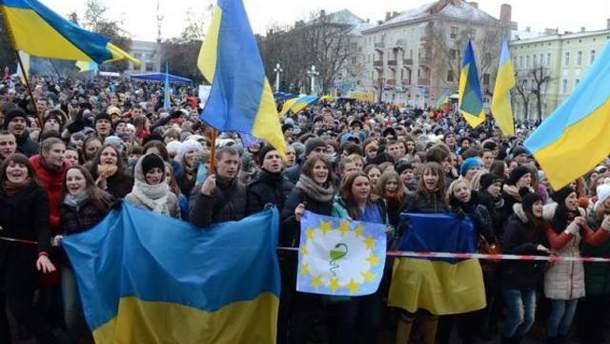 Евромайдан в Тернополе